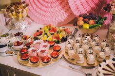 Cake corner, dessert bar, fruitbar... cake selection