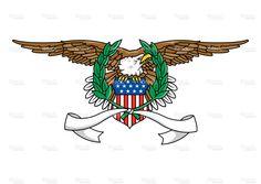 Eagle Emblem stock vector art 27205519 - iStock