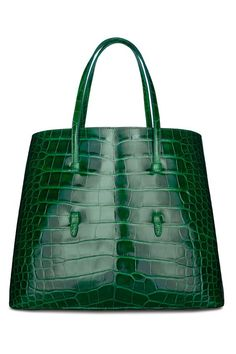 Amazing Azzedine Alaïa. Crocodile Tote Bag