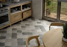 CurvyTile Lithium Black Wall & Floor Tiles 26.5x26.5cm - Tons of Tiles