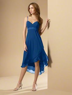 Favorite bridesmaid dress: Love the color, too.: Alfred Angelo Bridal Style 6471 from Bridesmaids