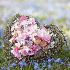 Blumen für die Hochzeit im Frühling