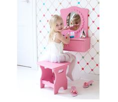 Love this too... make up table by Lief! Lifestyle. Suits any little princess!