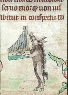 boar playing an autoharp