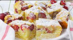 Nagyi cseresznyés pitéje – ennél egyszerűbb változata nincs