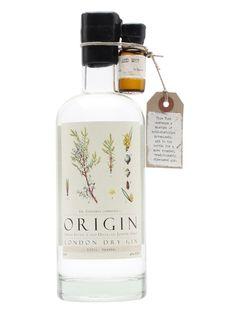 Alcohol Bottles, Liquor Bottles, Label Design, Packaging Design, Gin Brands, Gin Gifts, Gin Recipes, Whisky, Vodka