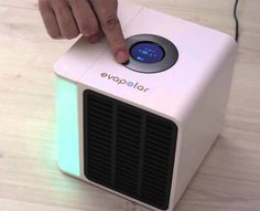 Evapolar creates personal microclimate suitable just for you - enjoy this eco-friendly desktop personal air conditioner device.