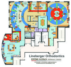Lineberger Orthodontics Floor Plan
