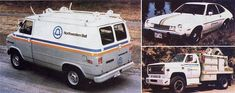 """I remember the van and the truck...we washed and cleaned (inside and out) these with our Dad who worked for """"Ma-Bell"""""""