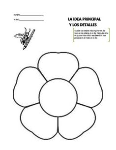 Fun activity for a dual language class to learn about main idea