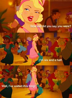 Charlotte from Princess & the Frog! lol!