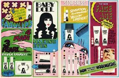 """Woolworth's ad for """"Baby Doll"""" cosmetics, 1967 Vintage Advertisements, Vintage Ads, Vintage Posters, Retro Advertising, Vintage Stuff, Baby Doll Makeup, Harley Davidson, Chris Ware, Nostalgia"""