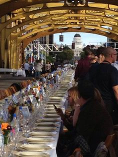 The Farm-to-Fork Tower Bridge Dinner capped off a week of Sacramento farm-to-fork events including a festival, cattle drive, wine at the Capitol and much more.