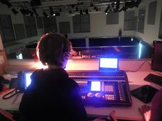 "Technical theatre and Event management - ""Dying Out Loud"" production April 2014"