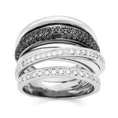 Black & White es una colección mágica que representa un cielo estrellado con una belleza y originalidad sorprendentes.