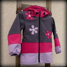 Dětská softshellová bunda - KYTIČKOVÁ