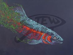 Uarctos's media. Steelhead tattoo design.