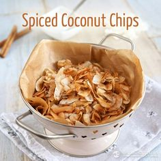 Spiced Coconut Chips for the Fat Fast (low-carb, paleo, keto, 2.5 g net carbs)
