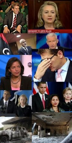 Ambassador Rice Just Confirmed Obama  White House Lie  OR should we say COVER UP?  Senior advisers within the Obama White House told her to lie to the American public