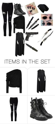 """Assassins"" by genderbentivy ❤ liked on Polyvore featuring art"