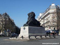 Le lion de la place Denfert-Rochereau
