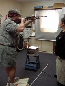 """When shooting, you cannot hit the target if you do not see it correctly.  Vision therapy helped me really SEE IT and as a result, I was able to take my game to the next level  Phil Kiner Twenty-eight-time Amateur Trapshooting Association All-American and World Record Holder with two 400×400 All-Around Scores  Shooter"