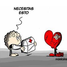 Crazy Love, My Love, Heart Vs Brain, Sad Love Quotes, Humor Grafico, Love Words, Love Letters, In My Feelings, Haha Funny