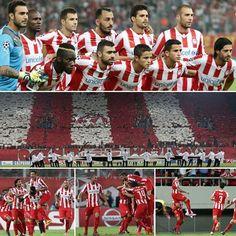 OLYMPIACOS - Atletico de Madrid 3-2 ΤΟ ΚΑΛΥΤΕΡΟ ΠΑΙΧΝΙΔΙ ΤΗΣ UEFA ΣΥΜΦΩΝΑ ΜΕ ΤΗΝ ΕΠΙΤΡΟΠΗ ΤΟΥ CHAMPIONS LEAGUE...!!!!!!!!!!!!!!!!!!!!!!!!!!!! Red Stripes, Madrid, Champions League, Religion, Football, Baseball Cards, Sports, Cl, Greek