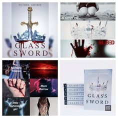 Glass Sword by Victoria Aveyard Glass Sword, Victoria Aveyard, Red Queen, Lightning, Photo Wall, Frame, Home Decor, Picture Frame, Photograph