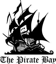The Pirate Bay stencil template