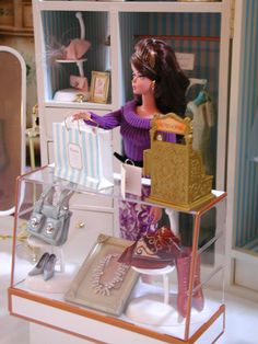 Fashion Royalty Dolls | used the openings reserved for doll storage for dress forms and I ...