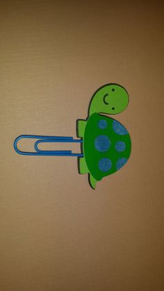 Turtle Paperclip by RUNWITHCRAFTSCISSORS on Etsy