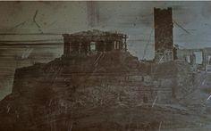 Η πρώτη σωζώμενη φωτογραφία της Ακρόπολης, 1842. Joseph-Philibert Girault de Prangey