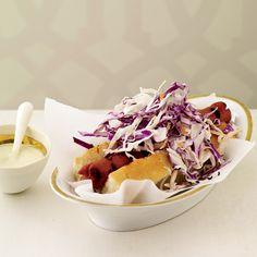 Hello Kitty Hot Dogs // More Amazing Grilling Recipes: http://www.foodandwine.com/slideshows/grilling #foodandwine