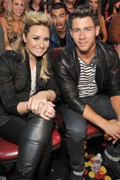 Nick Jonas Has an Exciting (Unexpected!) New Gig with Demi Lovato - NO FLIPPING WAYYYYYY :DD the excitement is real :$