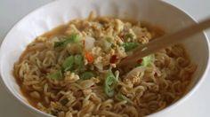 "kvnai: "" How to Make Korean Ramen Better 라면 맛있게 끓이기 - 건강한 신라면 - 한글 자막 by Eugenie Kitchen """