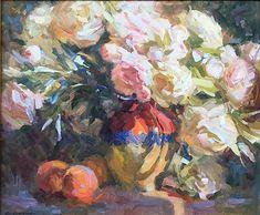Kevin Macpherson - Portfolio of Works: Oil Paintings Oil Paintings, Peonies, It Works, Artist, Flowers, Artists, Oil On Canvas, Nailed It, Art Oil