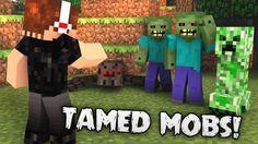 Tamed Mobs Mod 1.7.10