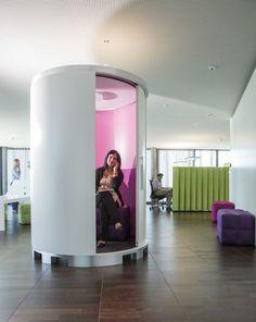 ergodata drum'box ist die Rückzugsinsel im Grossraumbüro.