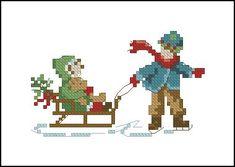 Вышивка крестом_Моя коллекция схем Christmas Afghan, Christmas Rugs, Christmas Card Crafts, Xmas, Cross Stitch Cards, Cross Stitch Baby, Cross Stitch Patterns, Christmas Embroidery Patterns, Embroidery Stitches