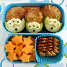 Toy Story Alien Bento Box #hottub #stargazing #party #kids