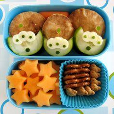 Toy Story Alien Bento Box #hottub #stargazing #party #kids