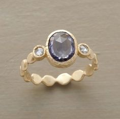 Sapphire and Diamond Ring from Sundance
