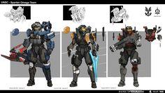 Halo Spartan Omega Team by StTheo.deviantart.com on @DeviantArt