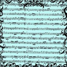 **FREE ViNTaGE DiGiTaL STaMPS**: FREE Digital Scrapbook Paper - Vintage Sheet Music