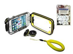 iPhone 6 Underwater Splash Housing Kit by Watershot PRO Line, Black w/ Floatstrap Watershot Inc.
