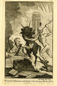 My grandparents once had an old book of lithographs and etchings of demons. I've loved them ever since.