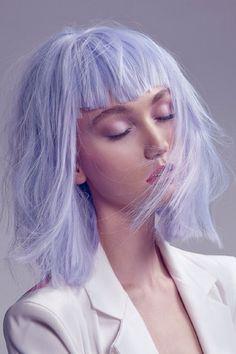 lilac hair couleur de cheveux lila