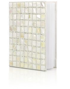 Mother of Pearl Large Notebook | Ivory | Monsoon