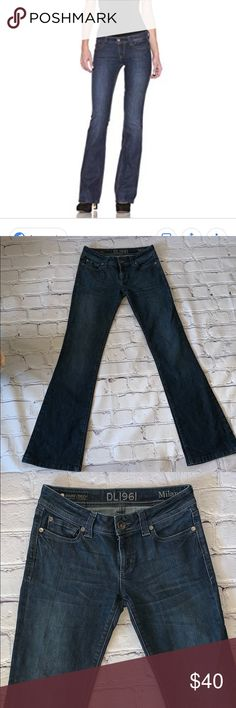 c235aafc84f DL1961 Milano boot cut jeans size 26 Worn a handful of times in excellent  shape.